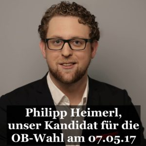 OB-Kandidat Philipp Heimerl