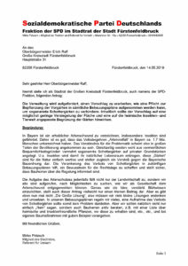 Antrag: Nein zu Schottergärten!