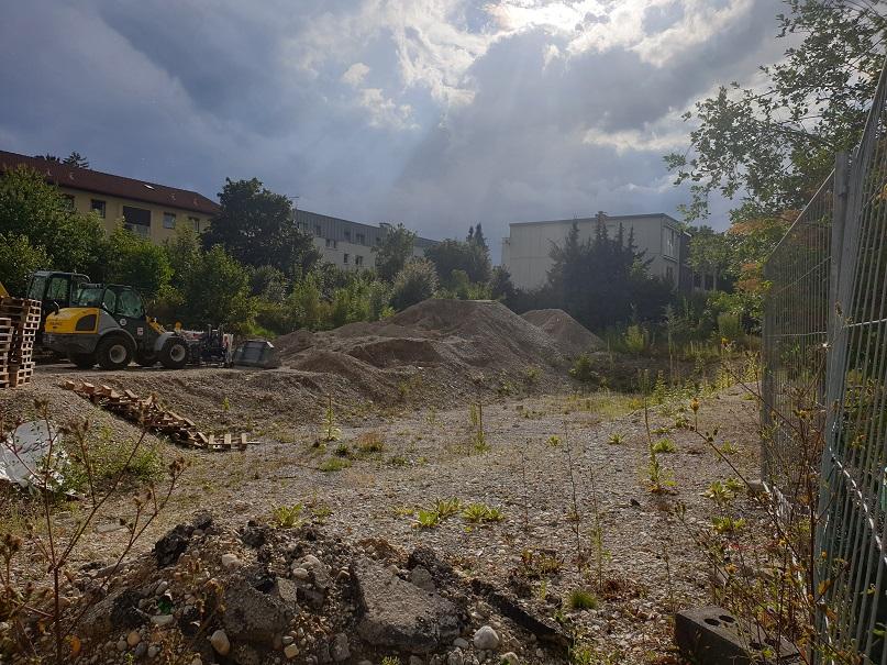 Hier wird kein städtischer Wohnungsbau mehr stattfinden