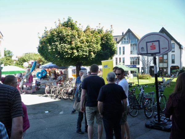 Viehmarkt als autofreies Stadtzentrum