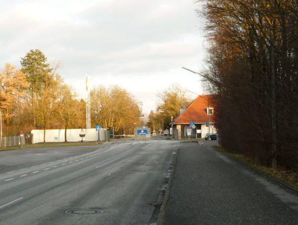 Fliegerhorst Eingang zu einem neuen Stadtviertel