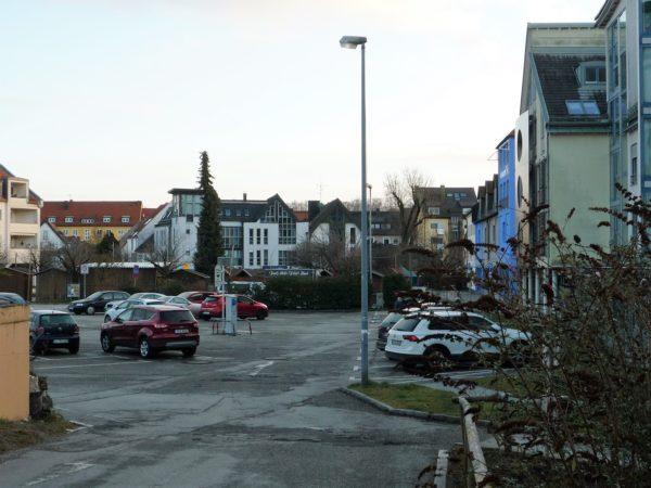 Parkflächen am Viehmarktplatz
